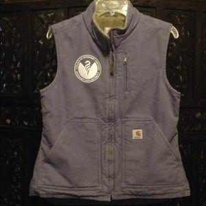 Super Warm Women's Lavender Carhartt Vest•Small